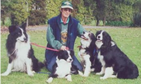Kim & the Border Collies